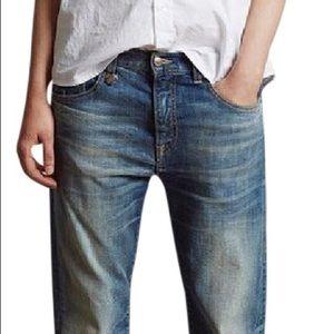 R13 Catherine light vintage jeans straight 27